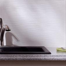 Modern Tile by BacksplashIdeas.com