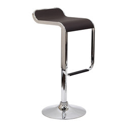 East End Imports - Lem Bar Stool In Vinyl - The LEM Style Bar Stool has sleek lines that would be equally impressive in a restaurant or at home. Perfect for entertaining guests at restaurants, your home bar, or for stylish seating around the kitchen counter.