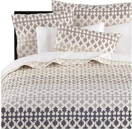 mediterranean duvet covers by Crate&Barrel