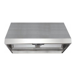 "Air King - Professional APF1036 36"" Wall Mounted/Under Cabinet Range Hood with 600 CFM  Sin - Air King is a leader in the ventilation industry constantly introducing new and innovative products to the market The Air King Energy Star Professional Wall Mounted Range Hood 10-Inch Tall by 36-Inch Wide - Stainless Steel APF1036 provides all the fe..."