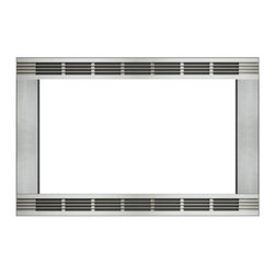 Panasonic - 30-Inch Trim Kit For 1.5 Cuft Panasonic Stainless Convection Microwave Ovens - Panasonic's NN-TK913S 30 In. Wide Trim Kit, in stainless steel, is designed for select Panasonic 1.5 cu. ft. microwave ovens. This built-in trim kit allows you to neatly and securely position select Panasonic microwave ovens into a cabinet or wall space in your kitchen. Kit includes all the necessary assembly pieces and hardware to give your Panasonic microwave oven a custom-finished look.30-inch wide trim kit for select Panasonic microwave ovens|Compatible models include NN-C994S and NN-CD989S|Neatly and securely position a Panasonic microwave oven into a cabinet or wall space in your kitchen|Kit includes installation instructions and all the necessary assembly pieces and hardware|Color: Stainless Steel|  panasonic| nn-tk913s| nntk913s| nn-tk913| nntk913| nn-c994s| nnc994s| nn-cd989s| nncd989s| nn-c994| nnc994| nn-cd989| nncd989| trim| kit| for| microwa  Package Contents: 4 trim strips|base|2 runners|2 exhaust covers|air guide|blind|hardware|manual|warranty  This item cannot be shipped to APO/FPO addresses