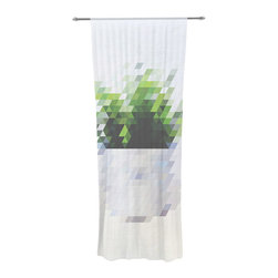 """Kess InHouse - Danny Ivan """"Plant"""" Decorative Sheer Curtain - Let the light in with these sheer artistic curtains. Showcase your style with thousands of pieces of art to choose from. Spruce up your living room, bedroom, dining room, or even use as a room divider. These polyester sheer curtains are 30"""" x 84"""" and sold individually for mixing & matching of styles. Brighten your indoor decor with these transparent accent curtains."""