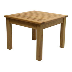 Haste Garden - Grace Side Table - Robinia wood is resistant to decay. All of the wood used in our furniture is sourced from Europe and is 100% FSC certificated. - Made in Poland. - Ships knocked down with easy assembly.