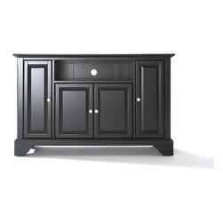 "Crosley - LaFayette 48"" TV Stand - Dimensions:  18 x 47.8 x 28 inches"