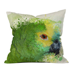 DENY Designs - Msimioni Loro Outdoor Throw Pillow - Do you hear that noise? it's your outdoor area begging for a facelift and what better way to turn up the chic than with our outdoor throw pillow collection? Made from water and mildew proof woven polyester, our indoor/outdoor throw pillow is the perfect way to add some vibrance and character to your boring outdoor furniture while giving the rain a run for its money. Custom printed in the USA for every order.