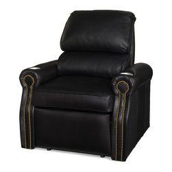 EuroLux Home - New Leather Recliner Chair Classic Style - Product Details