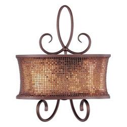 Maxim Lighting - Maxim Lighting 24168SBUB Alexander 2-Light Wall Sconce in Umber Bronze - Specifications: