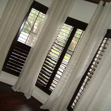 Contemporary Curtains by Rooms by Roxanne