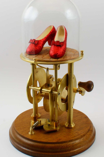 Eclectic Artwork The Ruby Slippers Automaton by Automaton Man