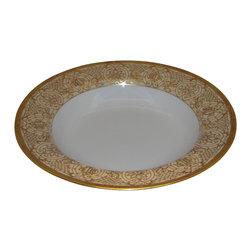 Christian Dior - Christian Dior Grand Salon Antique Large Rim Soup Bowl - Christian Dior Grand Salon Antique Large Rim Soup Bowl