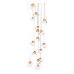 Bocci - Bocci | 28.16 Square Pendant Chandelier - Design by Omer Arbel.
