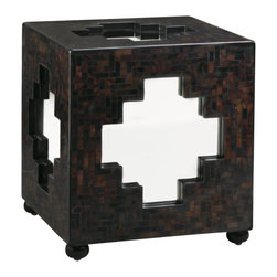 Henry Link - Henry Link Zanzibar Cube in Bronze Agate Finish - Henry Link - End Tables - 014011709 - About This Product: