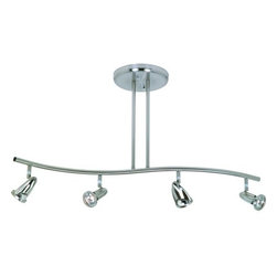 Artcraft Lighting - Artcraft Lighting AC4834 Rocket 4 Light Canopy Track Kit - Features:
