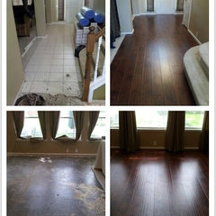 modern laminate flooring by Pro Select Flooring Company