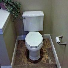 Traditional Bathroom by John Dolan Flooring Kitchen & Bath Remodeling