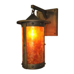 Steel Partners Inc - Hanging Sconce - PASADENA - ROGUE RIVER - Every piece we create is unique — handcrafted at our factory in Chehalis, Washington, USA. Due to this, lead times are 2 to 4 weeks.