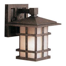 "Kichler - Kichler 9128 Cross Creek Collection 1 Light 9"" Outdoor Wall Light - Kichler 9128 Cross Creek Outdoor Wall Light"