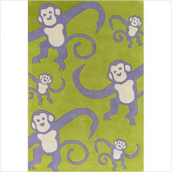 Hand-tufted Contemporary Kids Rug