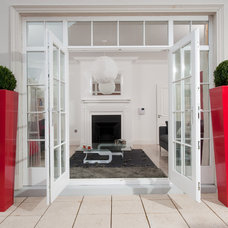 Contemporary Outdoor Pots And Planters by The Luxury Planter Collection