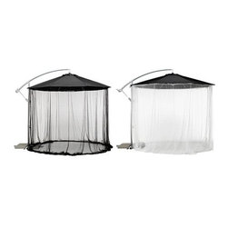 IKEA of Sweden - Karlsö Netting Curtain for Umbrella - Netting curtain for umbrella, assorted colors