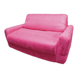 Fun Furnishings - Fun Furnishings Fuchsia Sofa Sleeper Multicolor - 10204 - Shop for Childrens Sofas from Hayneedle.com! About Fun FurnishingsThis company was created in 1993 in response to a need for more furniture choices for kids who had outgrown cribs. Top quality foam sofa and chair sleepers were Fun Furnishings' debut pieces. They were an instant hit on the market. Since then the company has expanded their innovative designs and continues to create delightful quality furniture for all kids.