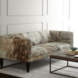 Bryson Hairhide Sofa -