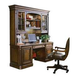 Hooker Furniture - Hooker Furniture Brookhaven Credenza in Clear Cherry - Hooker Furniture - Computer Desks - 28110464 - Work smarter, live better with great computer furniture from Hooker Furniture. You'll find computer desks, file cabinets, and storage here that will make your work more efficient so you'll have more time to spend with the people you care about, doing things you enjoy.