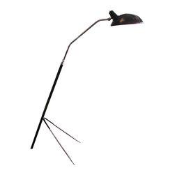FRENCH ART DECO FLOOR LAMP - SIZE