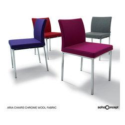 Soho Concept Aria Dining Chair Fabric - Soho Concept Aria Dining Chair Fabric