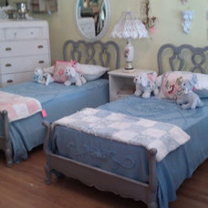 Eclectic Beds by Donna Thomas Vintage Chic Furniture