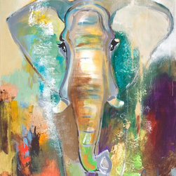 "SCANDINAVIAN ART FACTORY - ""Elephant Dream""     - Large Artwork - NAME-""ELEPHANT DREAM"""