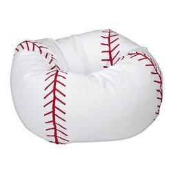 Ace Bayou - Ace Bayou Baseball Matte Bean Bag - Baseball Matte Bean Bag by Ace Bayou.