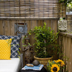 contemporary porch by Barbara Cannizzaro