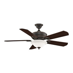 "Traditional 52"" Fanimation Camhaven Bronze Finish Ceiling Fan"