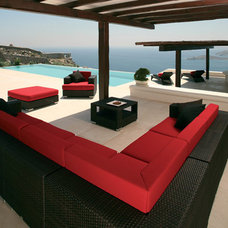 Contemporary Outdoor Sofas by authenTEAK Outdoor Living