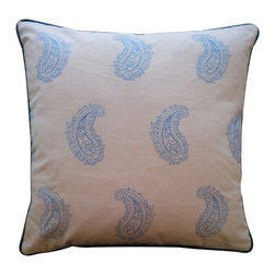 Jiti - Jiti Angela Pillow - 1220/ANG-ORG - Shop for Pillows from Hayneedle.com! Add a touch of fun to any decor with the Jiti Angela Pillow. This throw pillow offers a cute paisley pattern and is made with a 100% cotton cover. Its fill is made of 95% feather and 5% down fill for a cozy soft feel. Dry clean only recommended.About Jiti PillowsJiti has a wide range of bedding and accent pillow products so you're sure to find the perfect complement for your home decor in their line. The company is based in Los Angeles California and all of their products are proudly made in America. Using luminous colors rich patterns and varied textures Jiti creates products that can help you give your room an exotic makeover in minutes. Goga Bouquet Jiti's designer gets her inspiration from her Argentine heritage and her fascination with Indian culture. The result is beautiful exotic pieces that still have a modern feel.