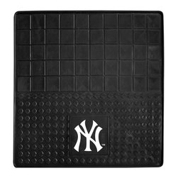Fanmats - Fanmats New York Yankees Heavy Duty Vinyl Cargo Mat - Show off your team pride and spotless vehicle floors with these heavy-duty Yankees mats from FANMATS. Made of 100-percent vinyl and featuring a classic Yankees design, these cargo mats are a great way to root for your team and keep your vehicle clean.