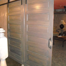 Eclectic Interior Doors by Terra Nova Construction
