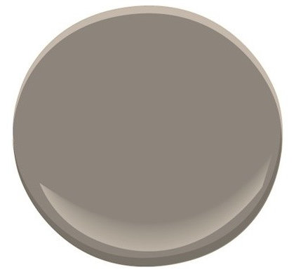 Earley residence paint selections for Benjamin moore smoked oyster paint color