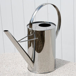 Modern Stainless Steel Watering Can - Pure, simple and stainless steel — what's not to love?