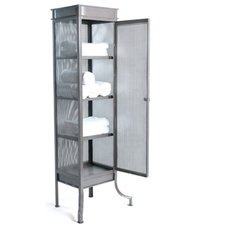 Industrial Bathroom Cabinets And Shelves by Indeed Decor