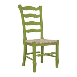 Trade Winds - New Trade Winds Side Chair Green Painted - Product Details