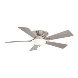 "MinkaAire - MinkaAire Delano II Delano 52"" 5 Blade Hugger Ceiling Fan with Blades and Light - Features:"