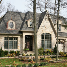 Traditional Exterior by Foremost Construction Inc