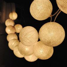 Contemporary Outdoor Rope And String Lights by Etsy