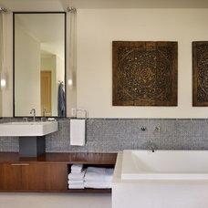 Contemporary Bathroom by NB Design Group, Inc