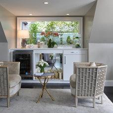 Contemporary  Penthouse Retreat & Terrace by Villanueva Design