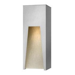 """Hinkley Lighting - Hinkley Lighting 1764-LED 16"""" Height Dark Sky LED Outdoor Wall Sconce K - 16"""" Height LED Dark Sky Outdoor Wall Sconce from the Kube CollectionFeatures:"""