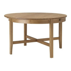 Carina Bengs - LEKSVIK Dining table - Dining table, antique stain