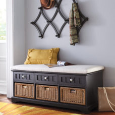 Traditional Accent And Storage Benches by Grandin Road